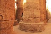 Wielkiej sali, kompleksu świątyni karnak luxor — Zdjęcie stockowe