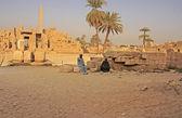 Karnak tempel complex, luxor — Stockfoto