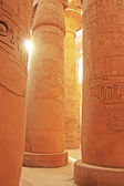 Great Hypostyle Hall, Karnak temple complex, Luxor — Stock Photo