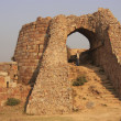 Ruins of Tughlaqabad Fort, New Delhi — Stock Photo