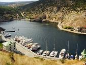 Balaklava Bay, Crimea — Stock Photo