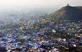 Aerial view of Bundi, Rajasthan — Stock Photo