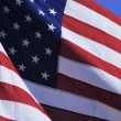 Close up of americflag — Stock Photo #34786763