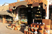Colorful market, town of Dahab, Egypt — Stock Photo