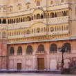 Stock Photo: Eastern facade of Junagarh fort, Bikaner, India