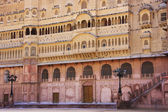 Eastern facade of Junagarh fort, Bikaner, India — Stock Photo
