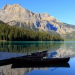 Stock Photo: Emerald Lake, Yoho National Park, British Columbia, Canada