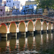 Stock Photo: Arched bridge, Udaipur, India