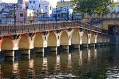 Arched bridge, Udaipur, India — Stock Photo