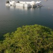 Stock Photo: Lake Palace, Jagniwas island, Udaipur, India