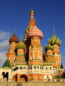 Cathedral of Vasily the Blessed, Moscow, Russia — Stock Photo