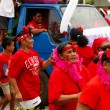 People celebrate arriving Fuifui Moimoi on Vavau island, Tonga — Stock Photo #39292557
