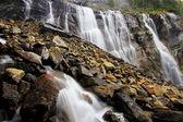 Seven Veils Falls, Lake O'Hara, Yoho National Park, Canada — Stok fotoğraf
