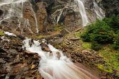 Seven Veils Falls, Lake O'Hara, Yoho National Park, Canada — Foto Stock