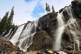 Seven Veils Falls, Lake O'Hara, Yoho National Park, Canada — Stockfoto