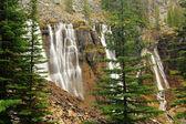 Seven Veils Falls, Lake O'Hara, Yoho National Park, Canada — Stock Photo