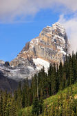 Mountains around Lake O'Hara, Yoho National Park, Canada — Foto Stock