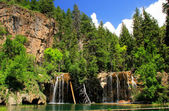 Hanging lake, Glenwood Canyon, Colorado — Стоковое фото