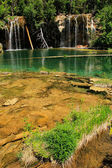 Hanging lake, Glenwood Canyon, Colorado — Stock fotografie