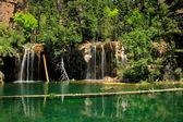 Hanging lake, Glenwood Canyon, Colorado — Stock Photo