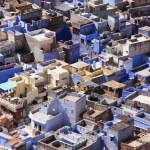 Jodhpur city seen from Mehrangarh Fort, India — Stock Photo #40114339
