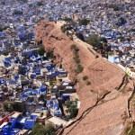 Jodhpur city seen from Mehrangarh Fort, India — Stock Photo #40114581