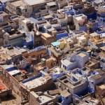 Jodhpur city seen from Mehrangarh Fort, India — Stock Photo #40114961