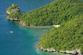 анг стринги национальный морской парк, таиланд — Стоковое фото