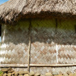 Stok fotoğraf: Detail of traditional house of Navalvillage, Viti Levu, Fiji