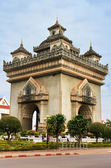 Victory Gate Patuxai, Vientiane, Laos — Stock Photo