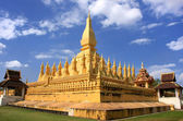 Pha That Luang stupa, Vientiane, Laos — Stock Photo