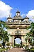 Victory Gate Patuxai, Vientiane, Laos — Stock Photo