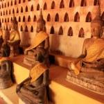 Buddha statues in Wat Si Saket, Vientiane, Laos — Stock Photo #42825647