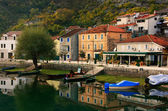 Crnojevica village on the river, Montenegro — Stock Photo