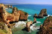 Ponta de Piedade in Lagos, Algarve region, Portugal  — 图库照片