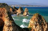 Ponta de Piedade in Lagos, Algarve region, Portugal  — Stock fotografie