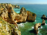 Ponta de Piedade in Lagos, Algarve region, Portugal  — Stock Photo