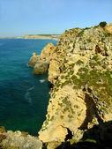 Ponta de piedade, en lagos, región de algarve, portugal — Foto de Stock