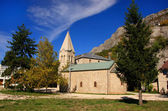 Lower Church of Ostrog Monastery, Montenegro — Stock Photo