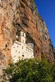 Upper church of Ostrog Monastery, Montenegro — Stock Photo