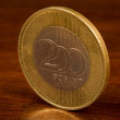 200 forint coin — Stock Photo
