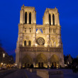 Royalty-Free Stock Photo: The Notre Dame cathedral in Paris, France