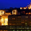 Lyon panorama — Stock Photo