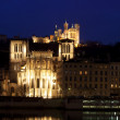 Lyon panorama - Stock Photo