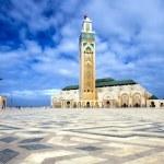 The Mosque of Hassan II in Casablanca — Stock Photo