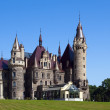 Moszna castle in Silesia - Stock Photo