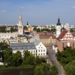Panorama of Opole, Poland — Stock Photo