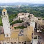Medieval city of San Gimignano, Tuscany, Italy — Stock Photo