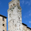 Stock Photo: City of San Gimignano