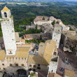 Medieval city of San Gimignano, Tuscany, Italy — Stock Photo